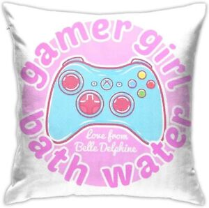 ✅Belle Delphine Bath water pillow Polyester 18x18 inch and STICKER FAST SHIPPING