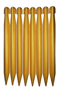 DAC V Best Tent Stake Size Large 4 Pack