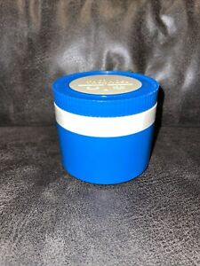 Vintage THERMOS King Seeley MODEL 1155 3 Insulated JAR 8oz Food Soup Blue White