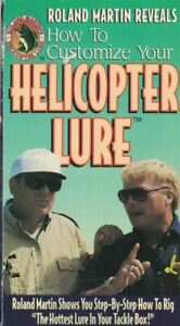 How to Customize your Helicopter Lure Roland Martin VHS Video Tape 1994