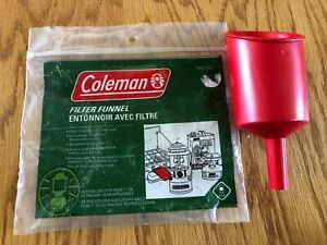 Vintage Coleman Fuel Filter Funnel 5103 700T NOS Never Used Camping Hunting