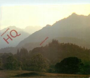 Postcard :Lingmoor Fell Pike of Blisco and Crinkle Crags Bad Scan Card Ok