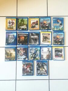 Lot of 17 Japanese PS Vita games Minecraft God Eater Call Duty Need Speed $199.00