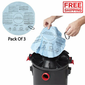 Multi Fit Wet Dry Vac Filters Vacuum Filter Cleaner Disposable Replacement Home
