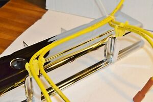 Mr.G Spark Plug Wire Pro Wire Looms Dividers Separators Holders 7 8.5m Yellow $6.98