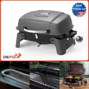 Nexgrill Portable Table Top Grill 1 Burner Propane Gas Stainless Steel Compact $61.75