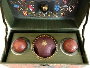 Harry Potter Collectible Quidditch Set in Cardboard Trunk Quidditch Balls 2016 $20.00