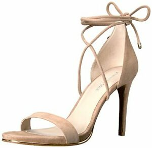 Kenneth Cole New York Womens KL05701SU Suede Open Toe Casual Almond Size 5.0 $22.12
