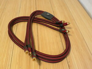 Red Monster RCA Component Audio Video Cable 4 Feet THX Certified $14.99