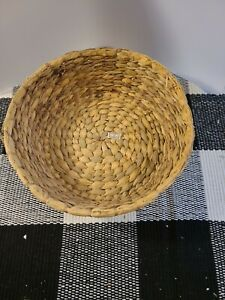 Vintage Handmade Basket From The Philippines Weaved $15.00