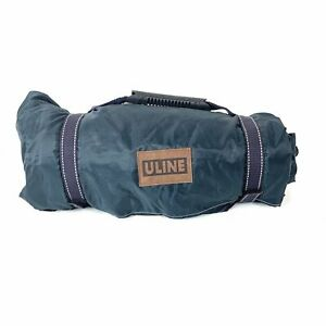 Uline Blue And Green Water Resistant Outdoor Picnic Blanket