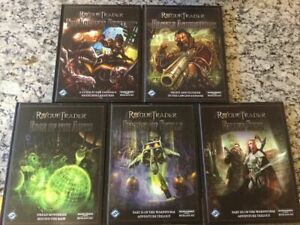 FFG Rogue Trader RPG Lot 5 Books Brand New Hardcovers Warhammer 40k Roleplaying