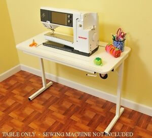 BERNINA 830 Arrow Heavy Duty Sewing TABLE w Insert sewing machine not included $349.00