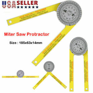 Replaces for Starrett 505P 7 Miter Saw Protractor Dial Accurate Angle Finder US $8.10