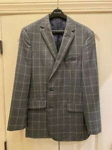 Men#x27;s Jos. A. Bank Sport Coat Green Tailored Fit Reserve Collection Size 44 Long $39.99