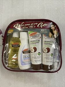 10 Piece Travel Kit For Women On The Go $10.99