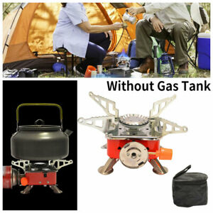Small Camping Gas Stove Folding Portable Outdoor Stove Burner Furnace Camping