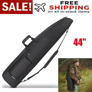 Tactical Rifle Bag Long Gun Padded Soft Case Hunting Storage Backpack Outdoor