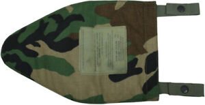 Woodland Camo Groin Protector Camo Pouch Cover Only No Inserts L XL