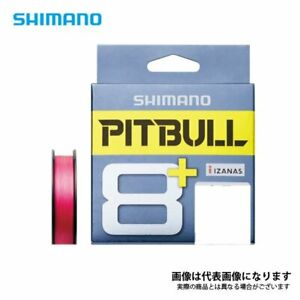 PE Line for Lure Fishing Shimano LD M51T PITBULL 8 150m 0.8 Traceable Pink