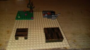 Custom Building Block Barbecue Picnic Area made with various sets #2