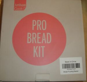 ARTISAN COOK PRO BREAD MAKING KIT bamboo proofing bowls cover tools kneading NEW