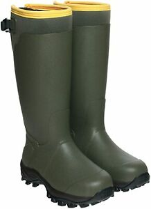 HISEA Hunting Boots for Men Waterproof Mens and Womens Dark Green Size 7.0