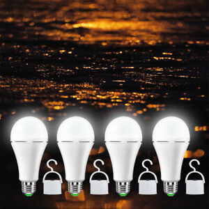 12W 60W Led Bulb Rechargeable LED Light Bulbs with Battery backup Emergency