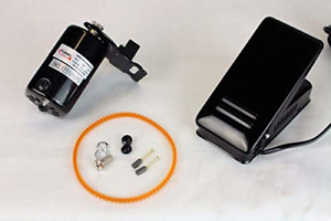 FW Sewing Machine Motor Kit with Foot Pedal amp; Belt 110 Volt 100 Watt for amp; $27.01