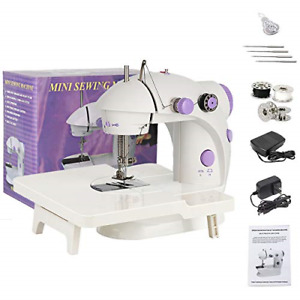 Mini Sewing Machine for Beginner Portable Sewing Machine for Kids Electric with $27.41