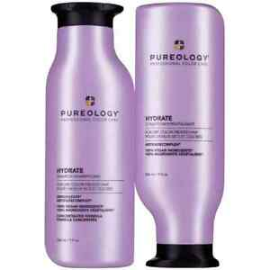 Pureology Hydrate Duo Shampoo amp; Conditioner 9oz 266ml NEW