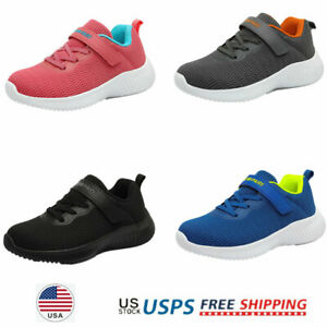 Girls Boys Kids Fashion Sneakers Breathable Comfort Running Shoes Athletic Shoes $19.94