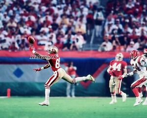 NFL 1989 Super Bowl San Francisco 49ers Jerry Rice 1 Handed Catch 8 X 10 Photo $5.99