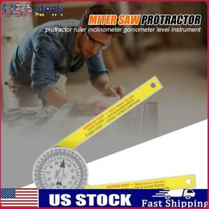 Digital Protractor Inclinometer Miter Saw Protractor ABS Angle Finder Meter US $9.59