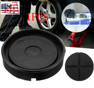 Floor Jack Pads Rubber Pad Adapter Car Truck Cross Slotted Frame Rail Universal $14.31