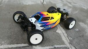 LeadFinger Racing A2 Tactic Body CLEAR for Tekno EB410 4WD LFRE3044 New $38.99