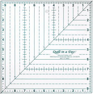 Quilt in a Day 9 1 2 Inch by 9 1 2 Inch Square Up Ruler $18.09