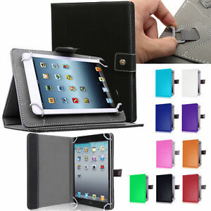 Folio Leather Case Cover Stand For Universal Android Tablet 7 8 10 $10.77