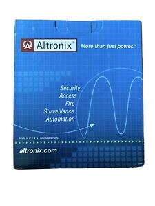 ALTRONIX POWER SUPPLY BATTERY CHARGER 12VDC 24VDC @1 AMP AL125UL NEW $59.00