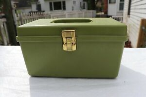 VTG Wil Hold Wilson Mfg Green Sewing Box Tray Sewing $25.00
