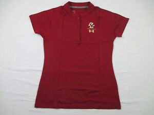 Boston College Eagles Under Armour Polo Womens Maroon New without Tags $48.99