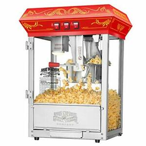 Great Northern Popcorn Countertop Style Popcorn Machine Counter top Popper Red