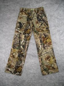 Gander Mountain Camo Hunting Pants Womens Small Double Knee Realtree Camouflage