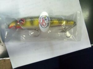 ZIGGIE 6quot; RATTLE LURE GOLDEN PERCH MUSKY MUSKIE FISHING LURE NEW MONSTER