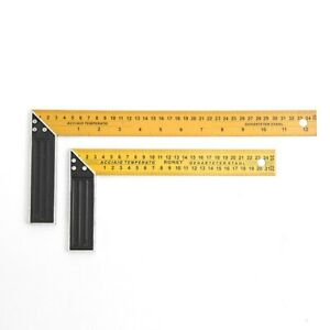 Steel L Square Angle Ruler 90 Degree Ruler For Woodworking Carpenter Tool $11.81