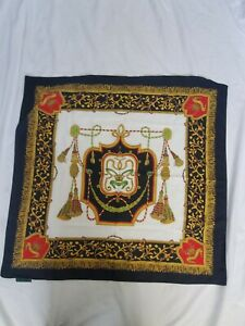 CARVEN PARIS Women#x27;s Scarf Ornate Made In Italy $14.99