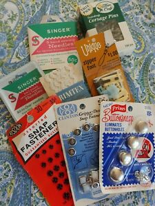 Lot of Vintage Antique Sewing Supplies Tools Notions buttons $25.00