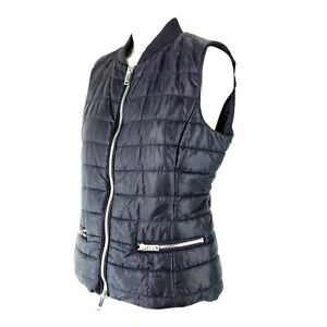 Rich And Royal Ladies Vest Quilted Evodown Lightweight Size 1352.6oz Blue New $137.76