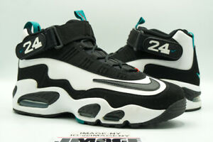 NIKE AIR GRIFFEY MAX 1 USED SIZE 10.5 WHITE BLACK TEAL FRESH WATER DD8558 100