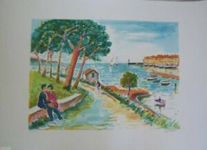 Jean Picot II Serigraph Signed Numbered Limited Edition $185.00
